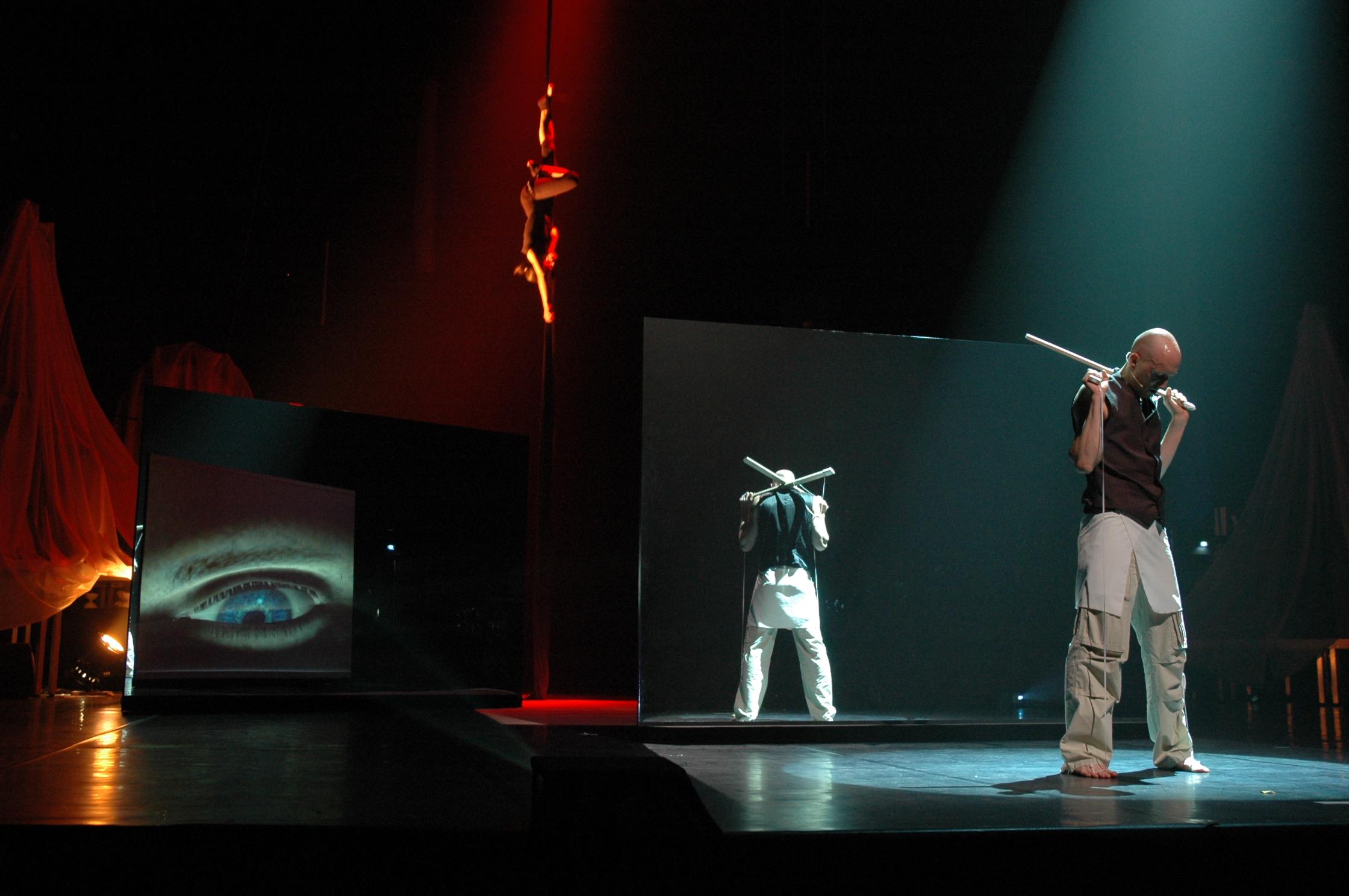 Oscar, Pièce de cirque (Schlag 2)  – Roland Auzet